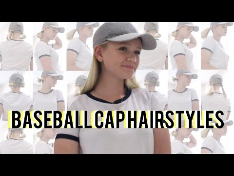Baseball Cap Hair Styles