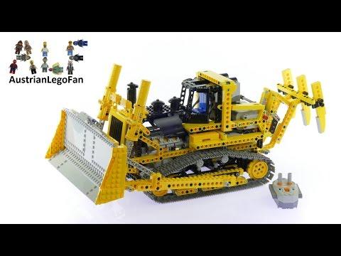 Vidéo LEGO Technic 8275 : Le bulldozer motorisé