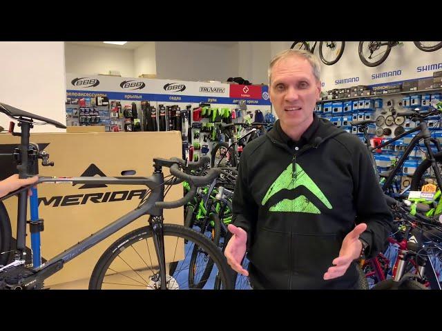 Видео Велосипед Merida Silex 7000 Matt Anthracite (glossy black)