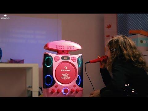 Die auna Karaokemaschine mit Beamer - KaraProjectura