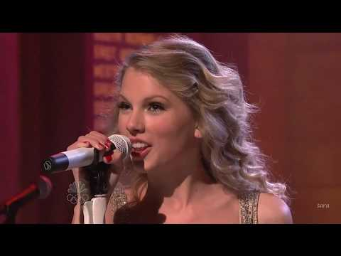 "Taylor Swift ""you belong with me"" # live at SNL"