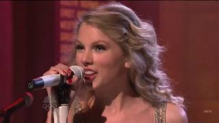 """Taylor Swift """"you belong with me"""" # live at SNL"""