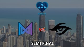 SEMIFINAL Nigma vs Team Secret - WeSave! Charity Play