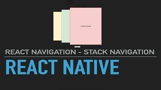 Simple React Native React Navigation - Free video search