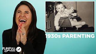 Parents React To 1930s Parenting Advice