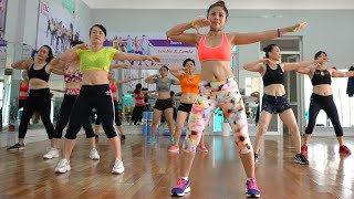 AEROBIC DANCE WORKOUT To Lose Belly Fat, Exercises To Lose Weight | FiT Aerobic