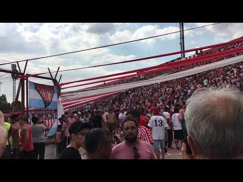 """""""Los Andes 1-0 Temperley. Previa una hora antes del partido"""" Barra: La Banda Descontrolada • Club: Los Andes"""