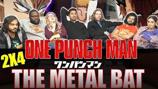 One Punch Man - 2x4 The Metal Bat - Group Reaction