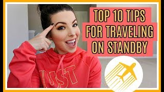 TOP 10 TIPS FOR FLYING STANDBY | From A Flight Attendant