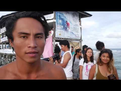 Siargao International Surfing Cup 2016/ Cloud 9/  Finals Day Highlights