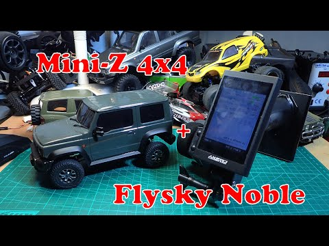 Flysky Noble with Mini-Z 4x4