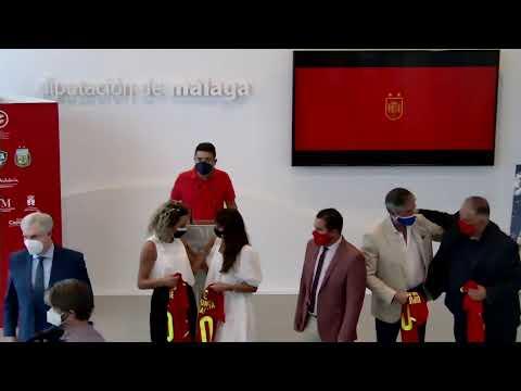 Presentación del triangular de Alhaurín de la Torre que disputará la Selección Española Absoluta Masculina de Fútbol Sala