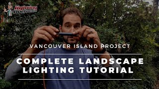 Low Voltage Landscape Lighting Installation (Full Video)