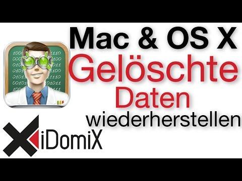 Gelöschte Dateien am Mac wiederherstellen mit Disk Drill