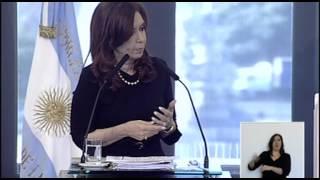 26 De JUN Presentación De Créditos Para Jubilados Argenta Cristina Fernández Cadena Nacional