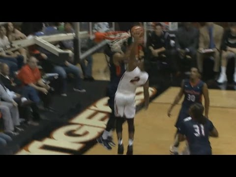 Pacific's T.J. Wallace Takes It To The Rim | CampusInsiders