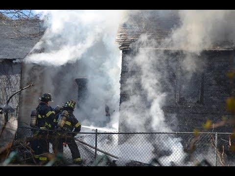 FDNY Box 4386: Bronx Vacant House Fire