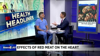 Effects of red meat on the heart