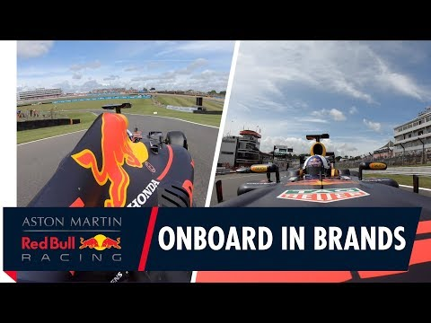 Onboard in Brands Hatch | David Coulthard goes for a lap in the RB7