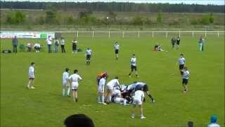 Rugby - Massy - M13 - Tournoi de Labouheyre - Finale contre Bayonne