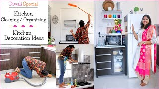 Kitchen Cleaning Tips (Never-Get-Cleaned-Areas) / Diwali Kitchen Cleaning & Decoration Ideas