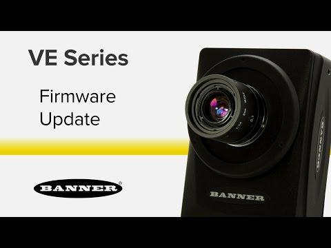VE Series Smart Cameras-Firmware Update