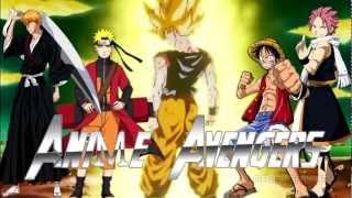 AMV  Anime Avengers 2 Naruto Shippuden Bleach One Piece Dragon Ball Z Fairy Tail Trailer 2014