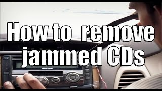 How to remove jammed CDs from your music systems.Indian Motovloger/Motorcycle ride/Chandigarh