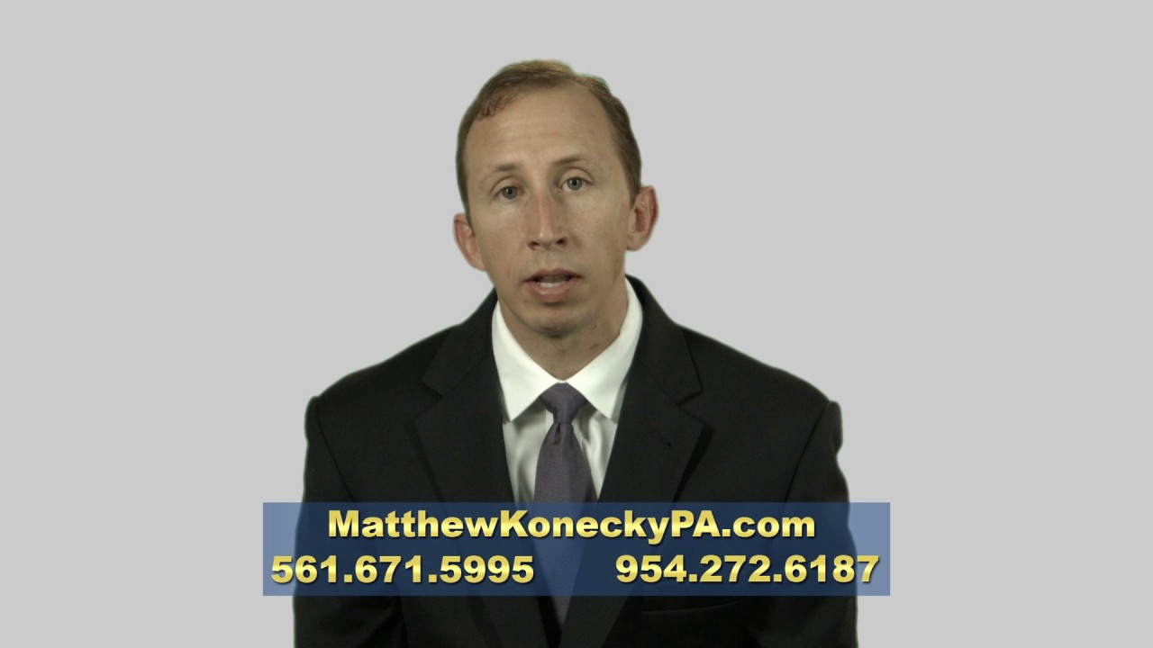 Insurance Coverages | Palm Beach County, Florida | Matthew Konecky, P.A.