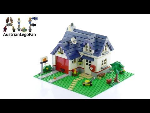 Vidéo LEGO Creator 5891 : La maison de campagne
