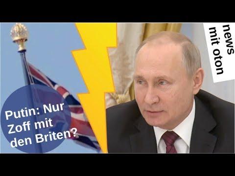 Putin: Nur Zoff mit den Briten? [Video]