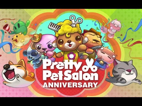 pretty pet salon anniversary обзор игры андроид game rewiew android.