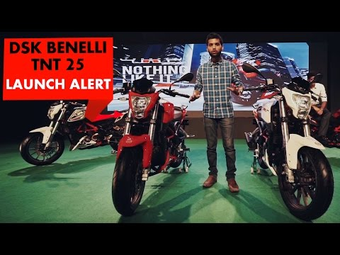 Launch Alert: DSK Benelli TNT 25 : PowerDrift