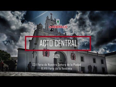 Acto Central Feria de la Piedad 2021