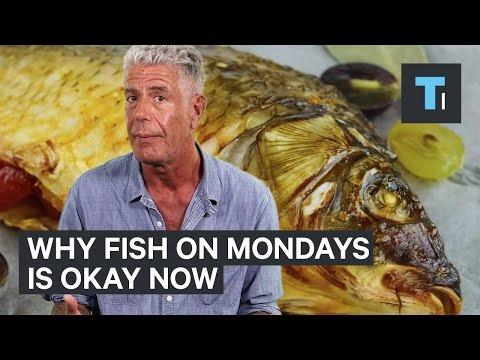 Anthony Bourdain: It's Now OK To Order Fish On Mondays