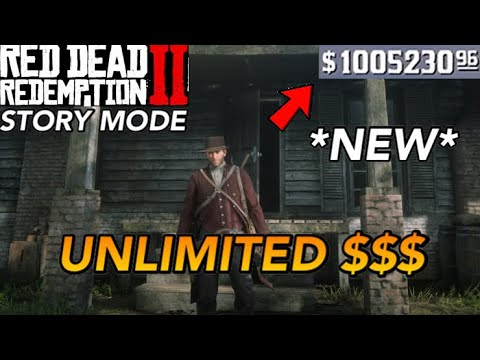 Red Dead Redemption 2 story mode insane money glitch how to in