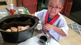 Crockpot Chicken Drumsticks With Chef Aurora