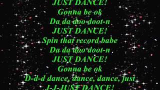 Lady GaGa Ft Colby ODonis & Akon Just Dance Lyrics