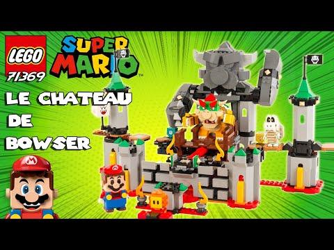 Vidéo LEGO Super Mario 71369 : La bataille du château de Bowser - Ensemble d'extension