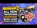 BORDERLANDS 3 | All New Maliwan Takedown Boss Legendary Loot - Wotan & Valkyrie