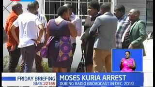 Gatundu South MP Moses Kuria granted Kshs. 50,000/- bail