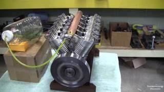 Самый маленький двигатель V12 в мире