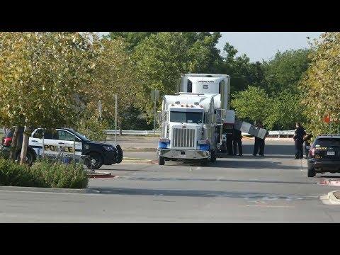 Nine found dead inside truck