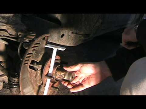 1999 Chevy S-10 4x4 Wheel Bearing Change