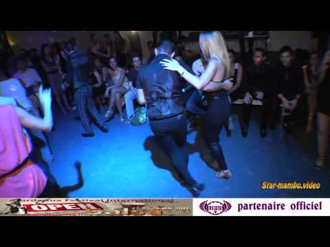 Adolfo Indacochea and Adeline (Adé Salsa Influences) - social dancing @ BOS 2011