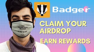 How to Claim Badger Airdrop and Stake For Max Rewards (Badger Finance)
