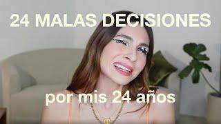 24 Malas decisiones que he tomado en mis 24 años... Aprendan de mis errores hahaha | #VinitoConAnna
