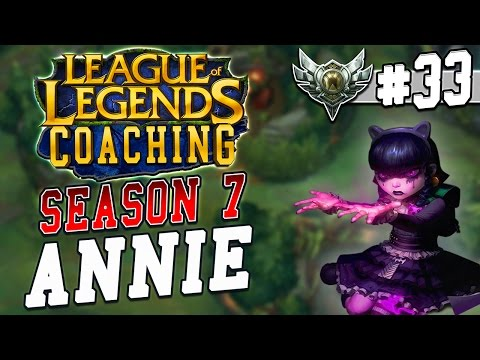 League of Legends] Coaching Yasuo mid vs Annie (Bronze Elo