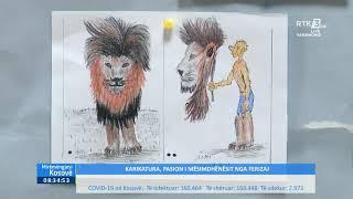 Mirëmëngjesi Kosovë Kronikë - Karikatura, pasion i mësimdhënësit nga Ferizaj 14.10.2021