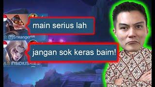Prank Baim Wong Sampai Kena Marah Publik - Mobile Legends